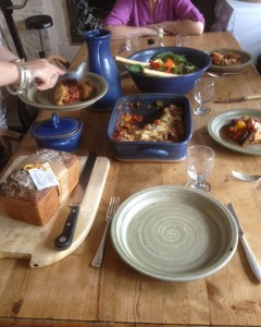 Another potters' lunch
