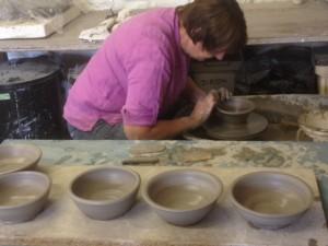 throwing bowls